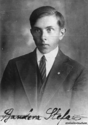 Історичні студентське фото степана